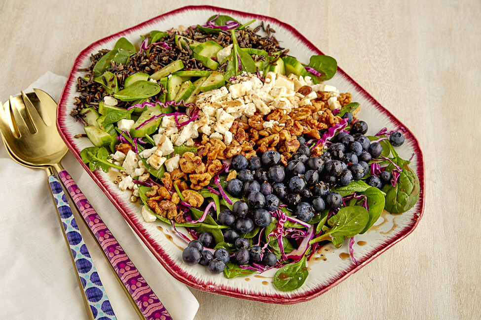 Blueberry-Spinach Salad