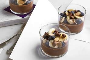 Overnight Chocolate-Chia Pudding