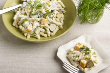 Dill Pickle-Pasta Salad