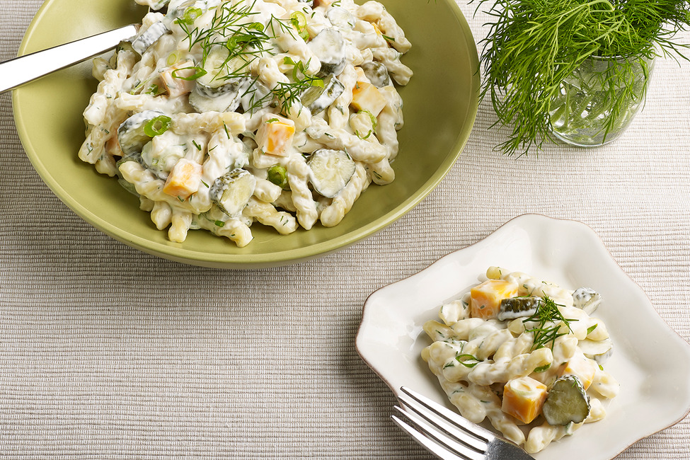 Dill Pickle-Pasta Salad image