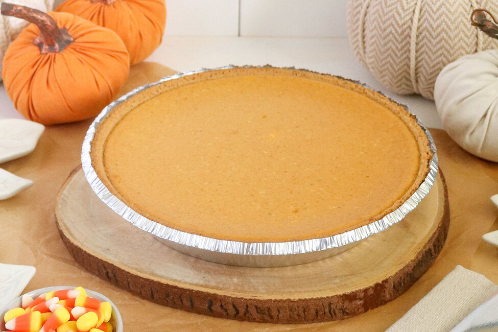 3-Step Maple-Pumpkin Cheesecake
