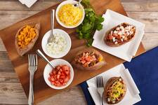Smoky Taco-Stuffed Sweet Potatoes