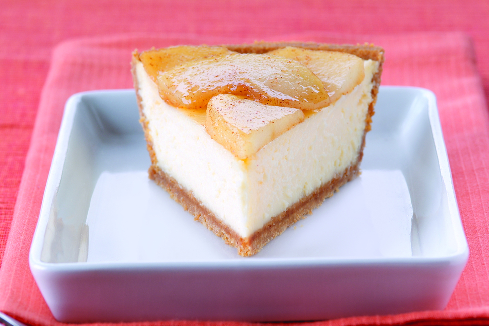 PHILADELPHIA® 3-STEP® Apple Cinnamon Cheesecake