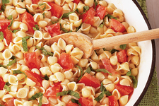 Shells with Tomato & Basil