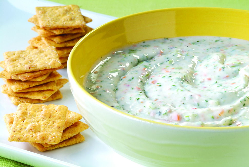 Garden Vegetable Herb Dip