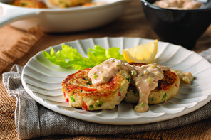 Crab Cakes with Savory Remoulade
