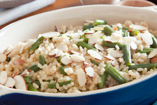 15-Minute Brown Rice & Green Beans