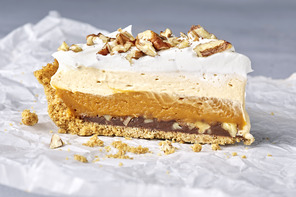 Easy Triple-Layer Butterscotch Pie