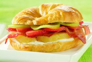 Tropical Bacon Croissant