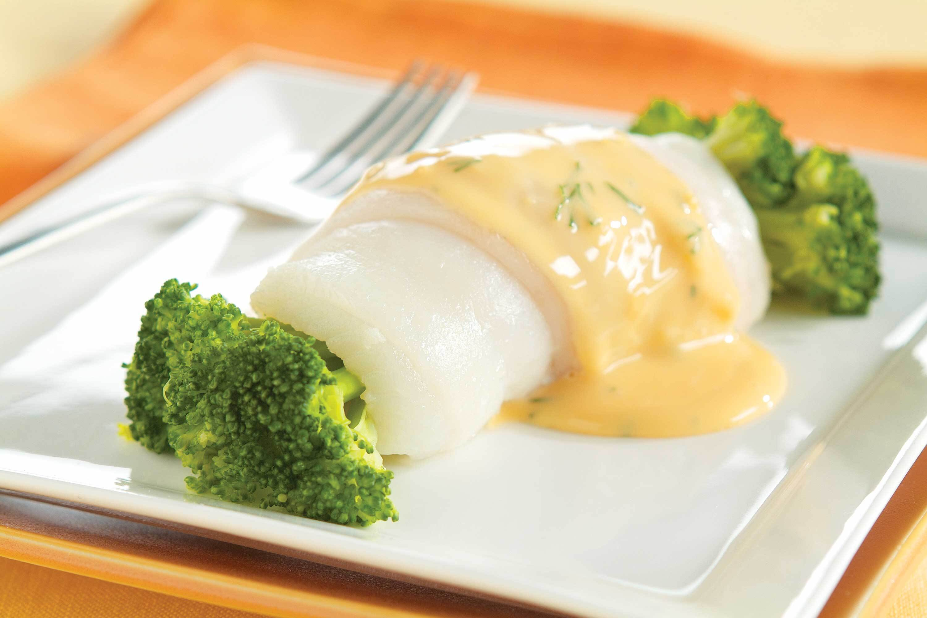 Lemon Broccoli Fish