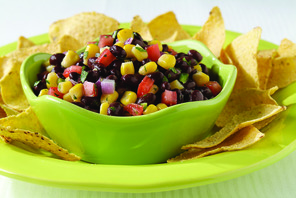 Winter Black Bean Salsa