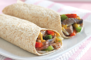 BBQ Grilled Steak Wraps