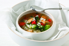 Chunky Chicken Vegetable Soup
