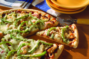 Barbecue-Chicken Pizza