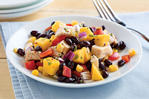 Black Bean & Mango Chicken Salad