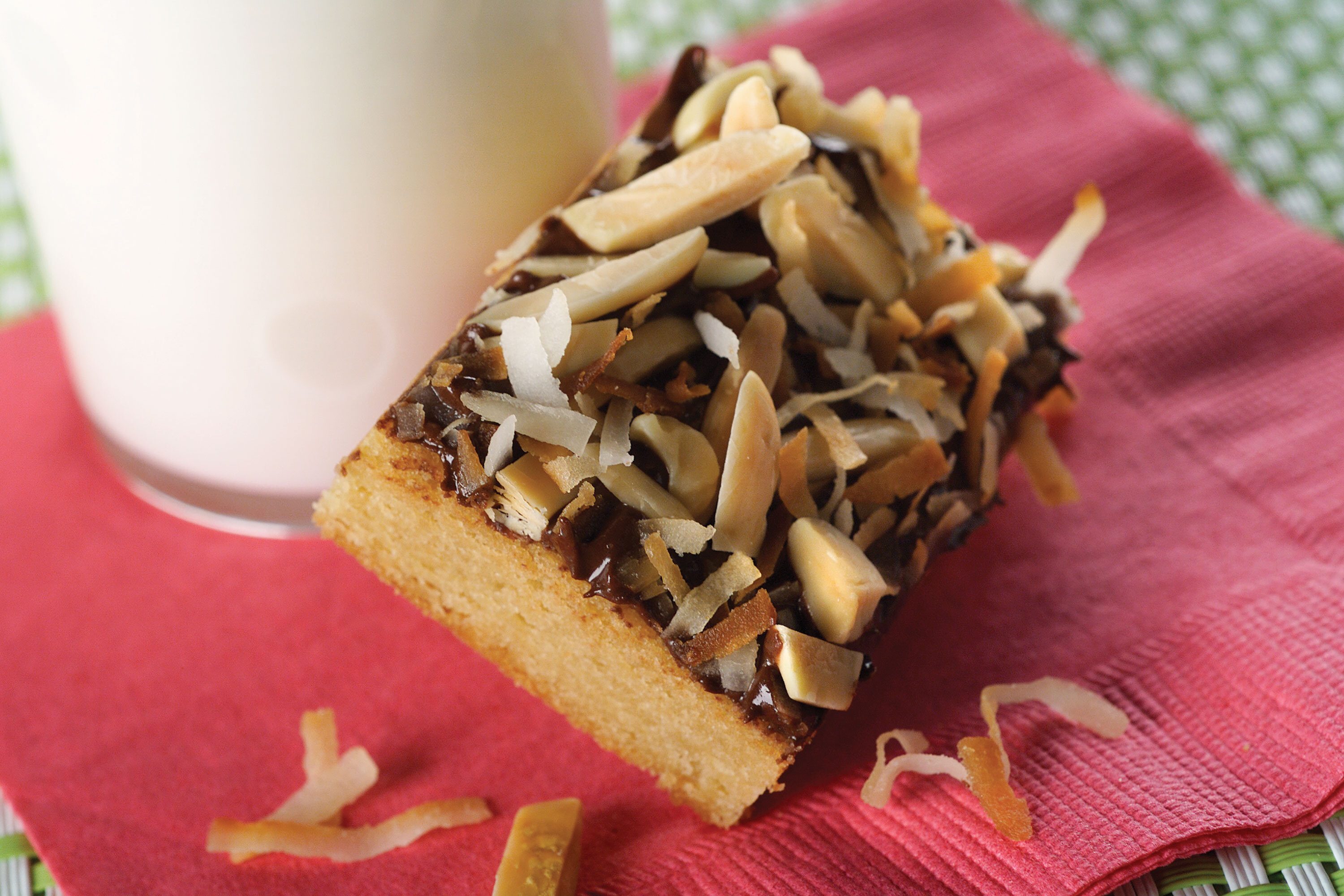 Almond Toffee Squares