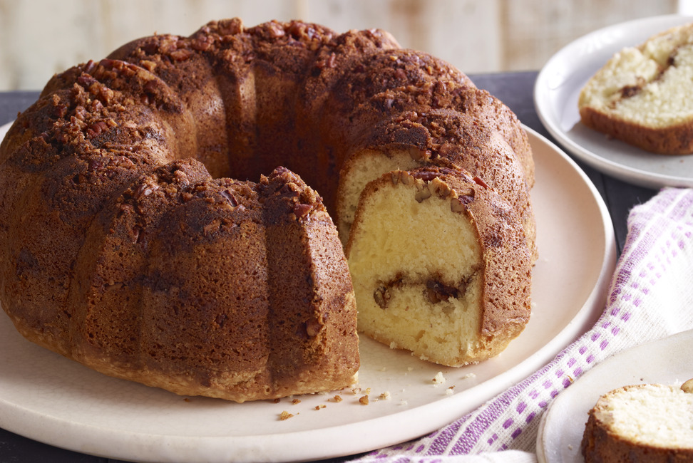 Moist Sour Cream Coffee Cake My Food And Family