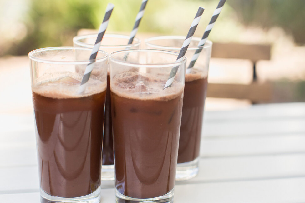 Iced Chocolaccino