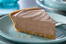 Frozen Sweet Chocolate Pie