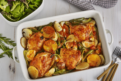 Chicken Thigh Bake
