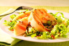 Sweet Melon & Romaine Salad