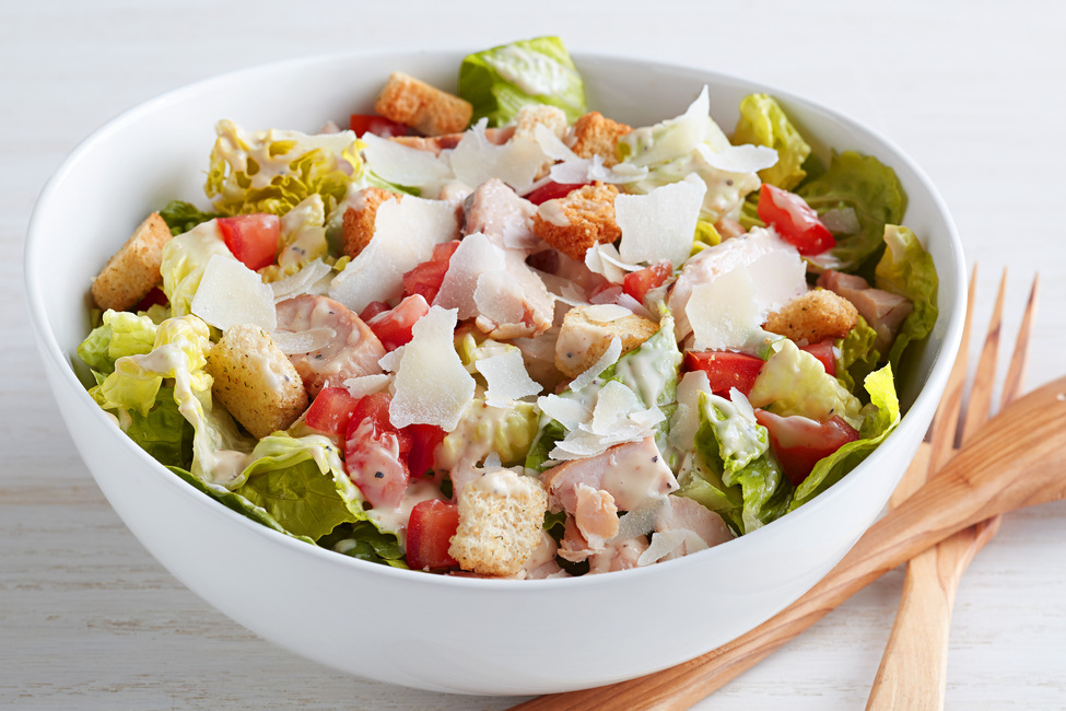 Quick Chicken Caesar Salad Recipe