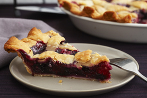 Blueberry, Raspberry & Blackberry Pie