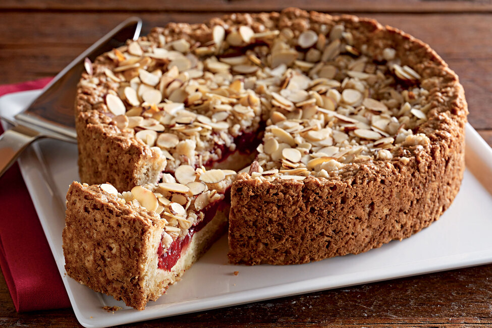Cream Cheese-Cherry Coffee Cake