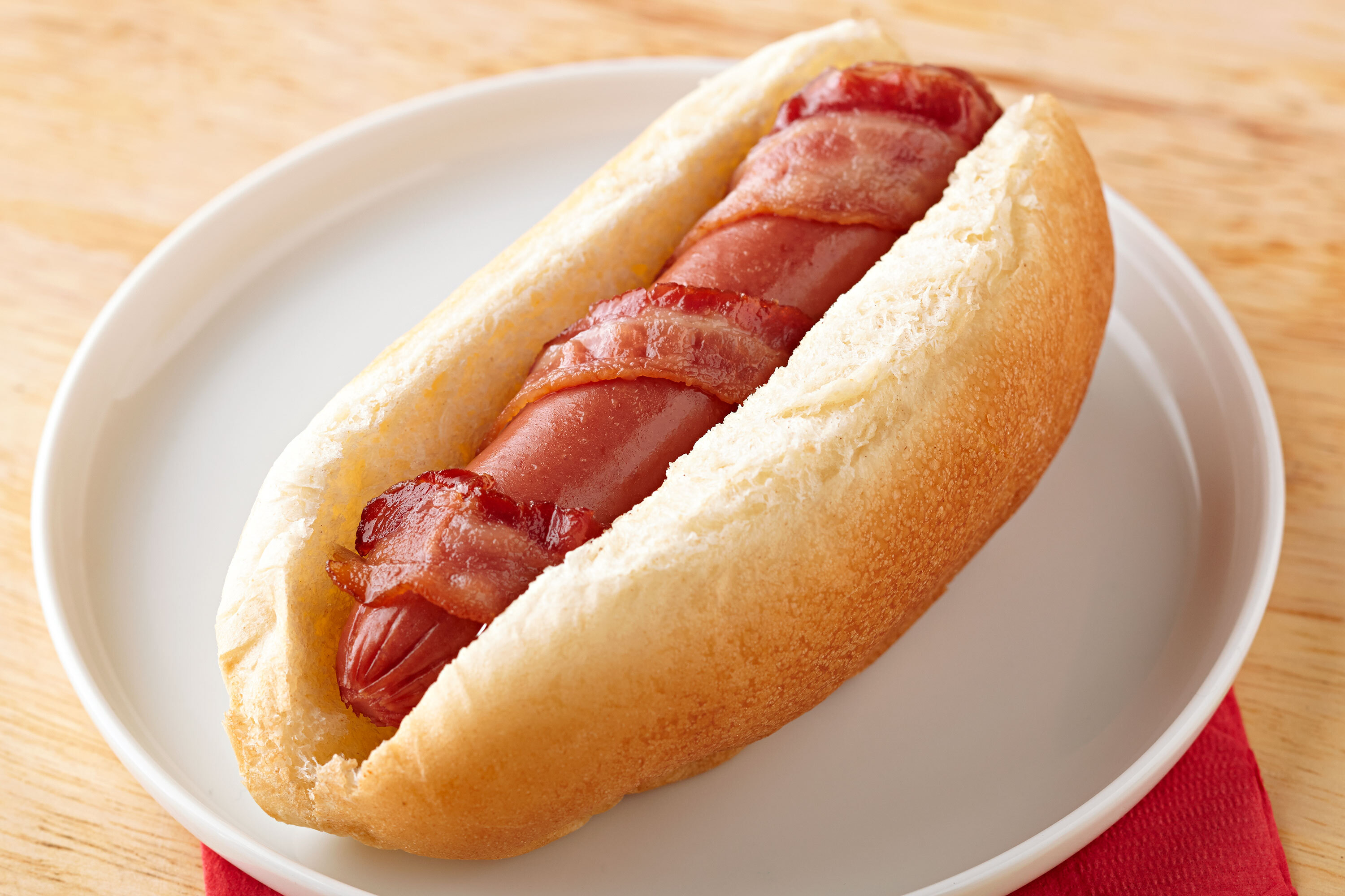 Easy Bacon-Cheese Dog