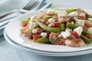 Greek Chicken and Vegetables