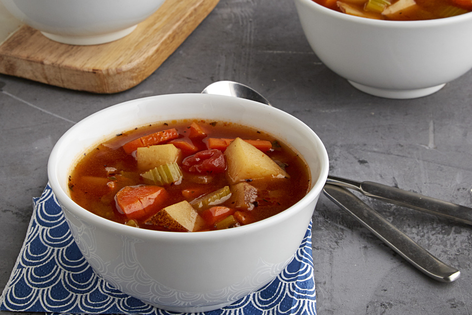 Hearty Italian Vegetable Soup