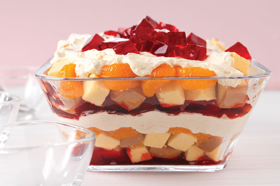 Cranberry-Orange Trifle