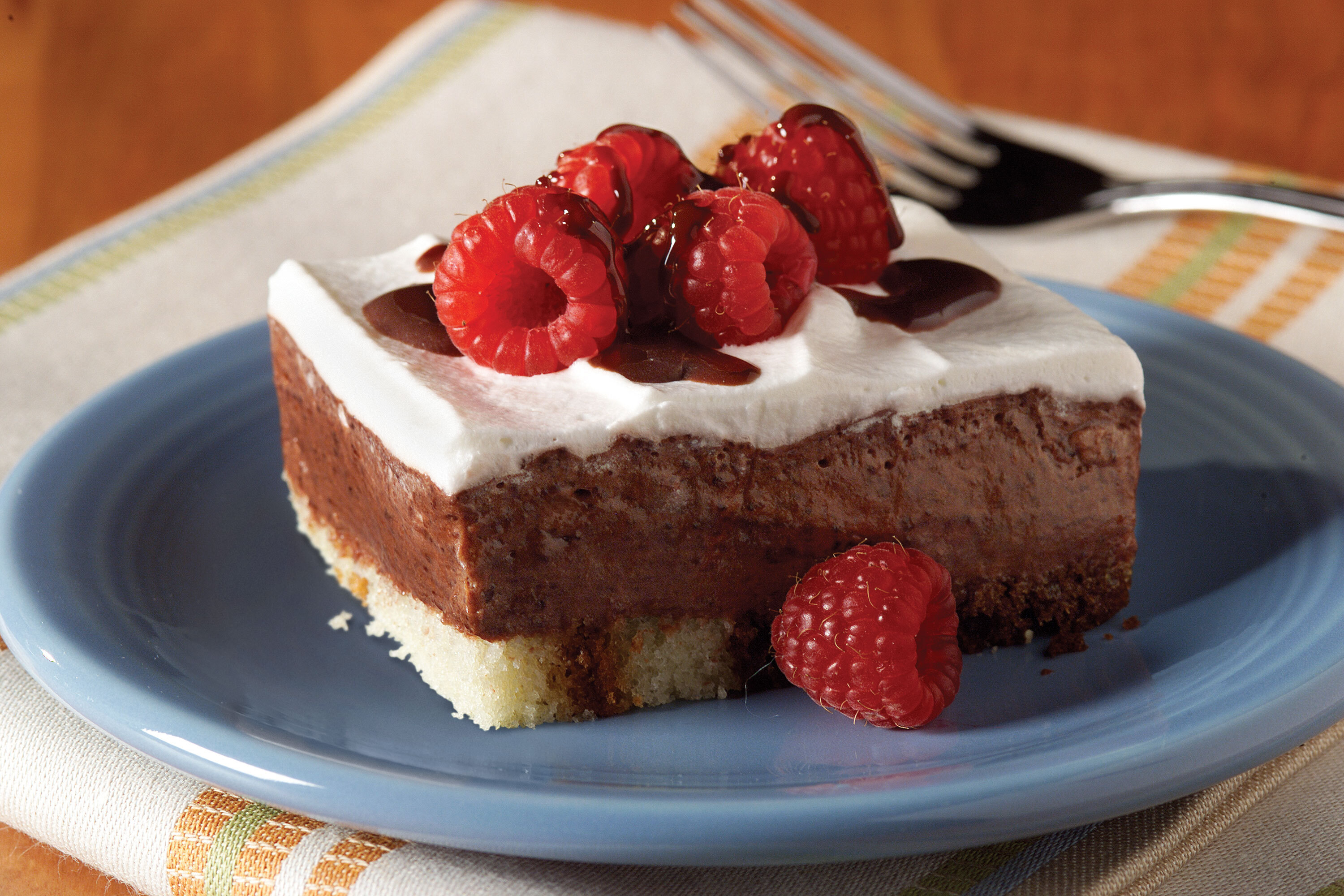 Low-Fat Chocolate-Berry Dessert