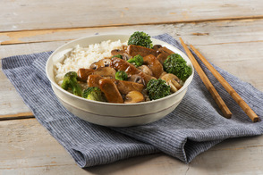 Speedy Ginger-Pork Chop Stir-Fry