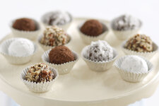 Chocolate-Peanut Butter Truffles