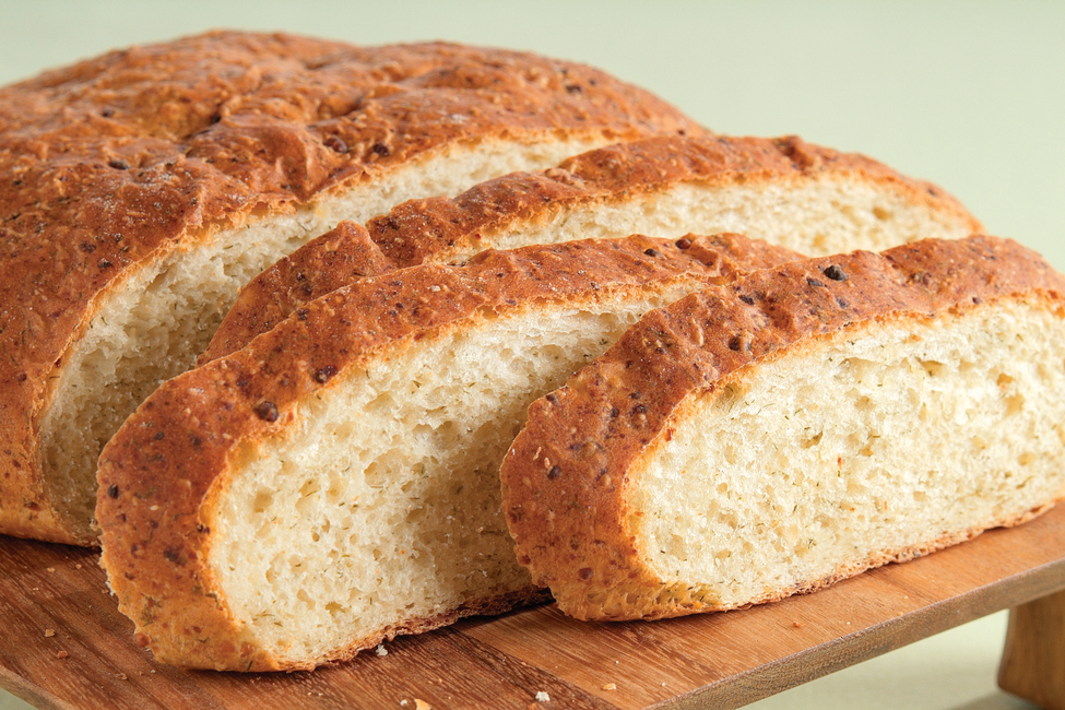 Easy Onion-Dill Bread