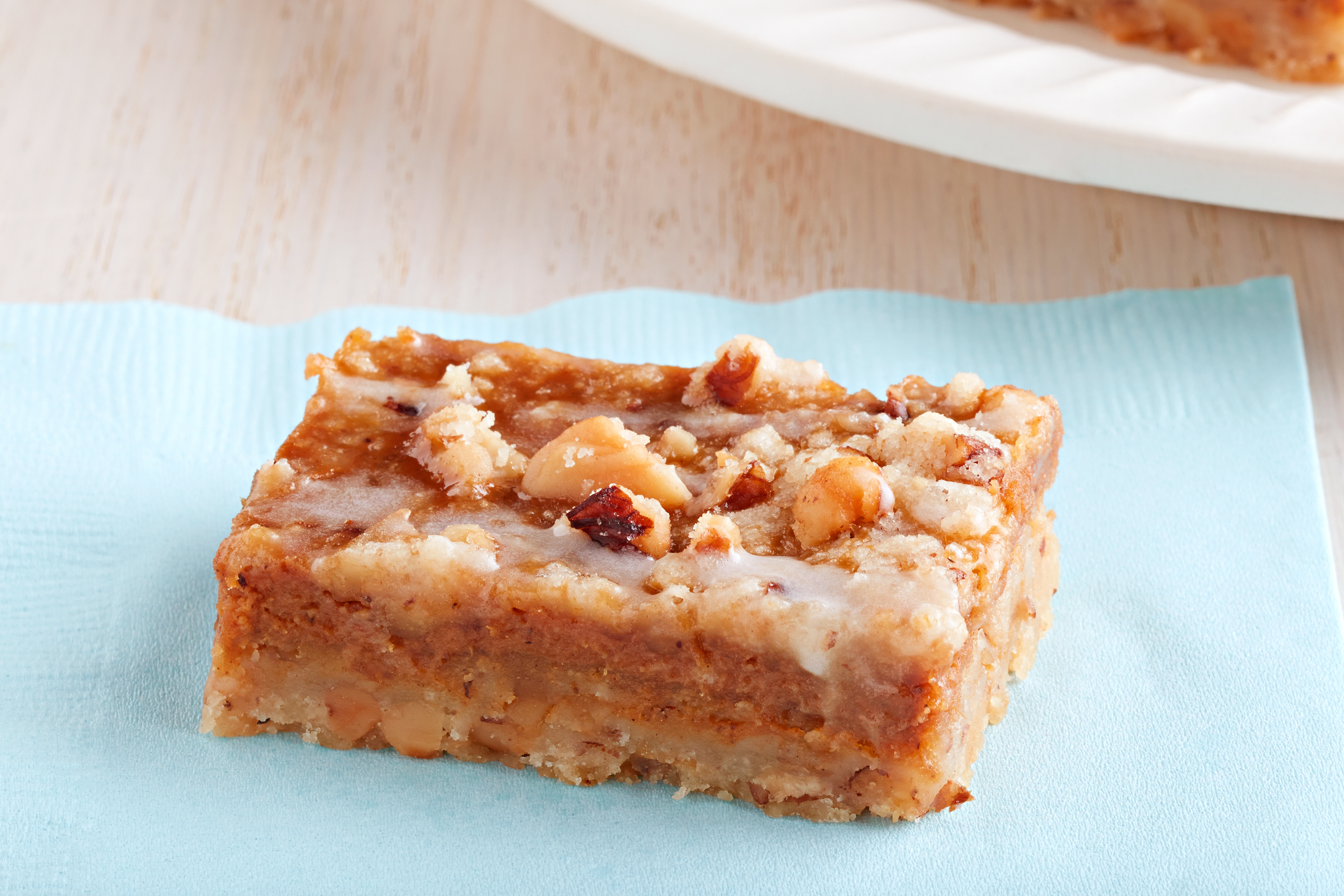 Walnut Pumpkin Bars
