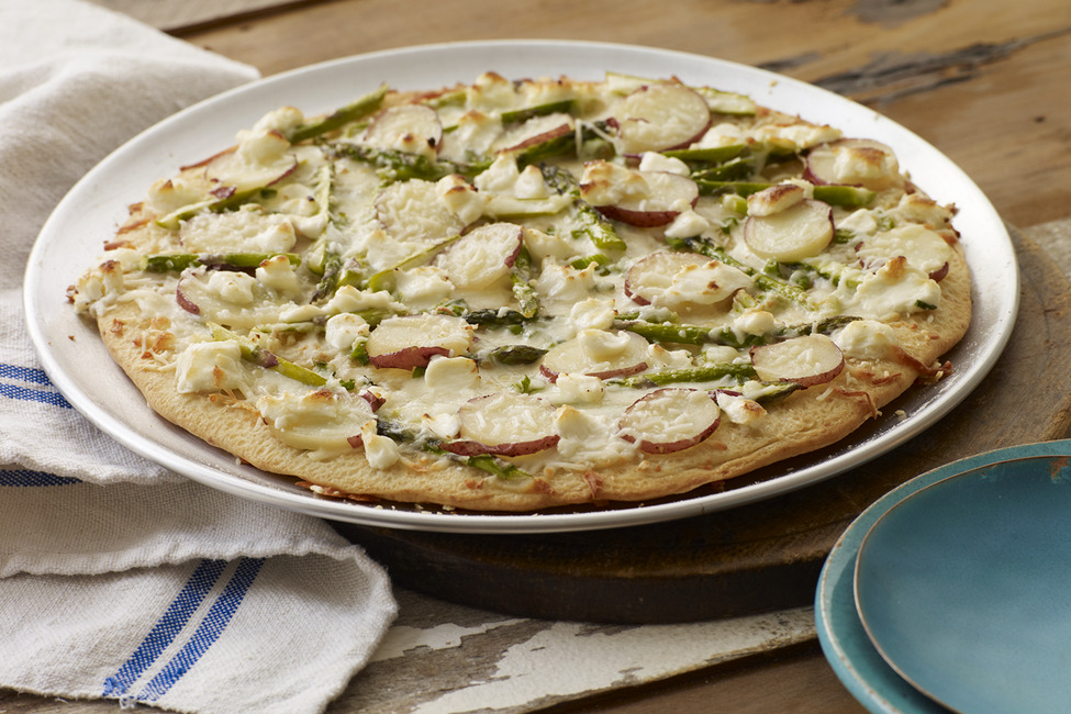 Asparagus, Potato & PHILLY Pizzeria Pizza