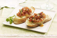 Grilled Salsa Melts