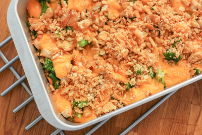 Broccoli-Cheese Casserole with Chicken