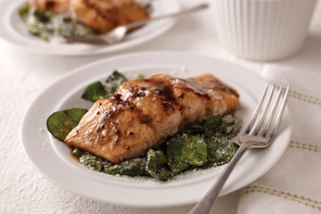 Mediterranean Salmon for Two