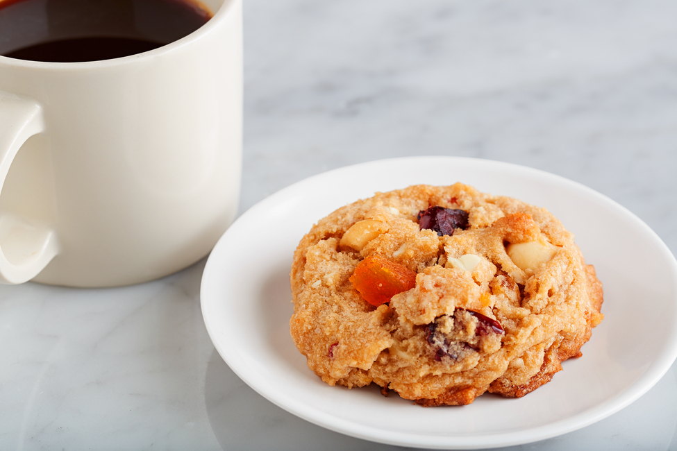 Apricot Cranberry White Chocolate Chunk Cookies