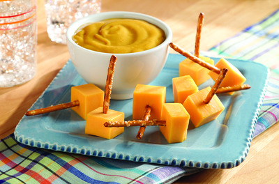 Cheesy Pretzel Dippers
