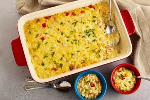 Cheesy Creamed Corn Casserole
