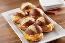 Turkey-Pretzel Sliders
