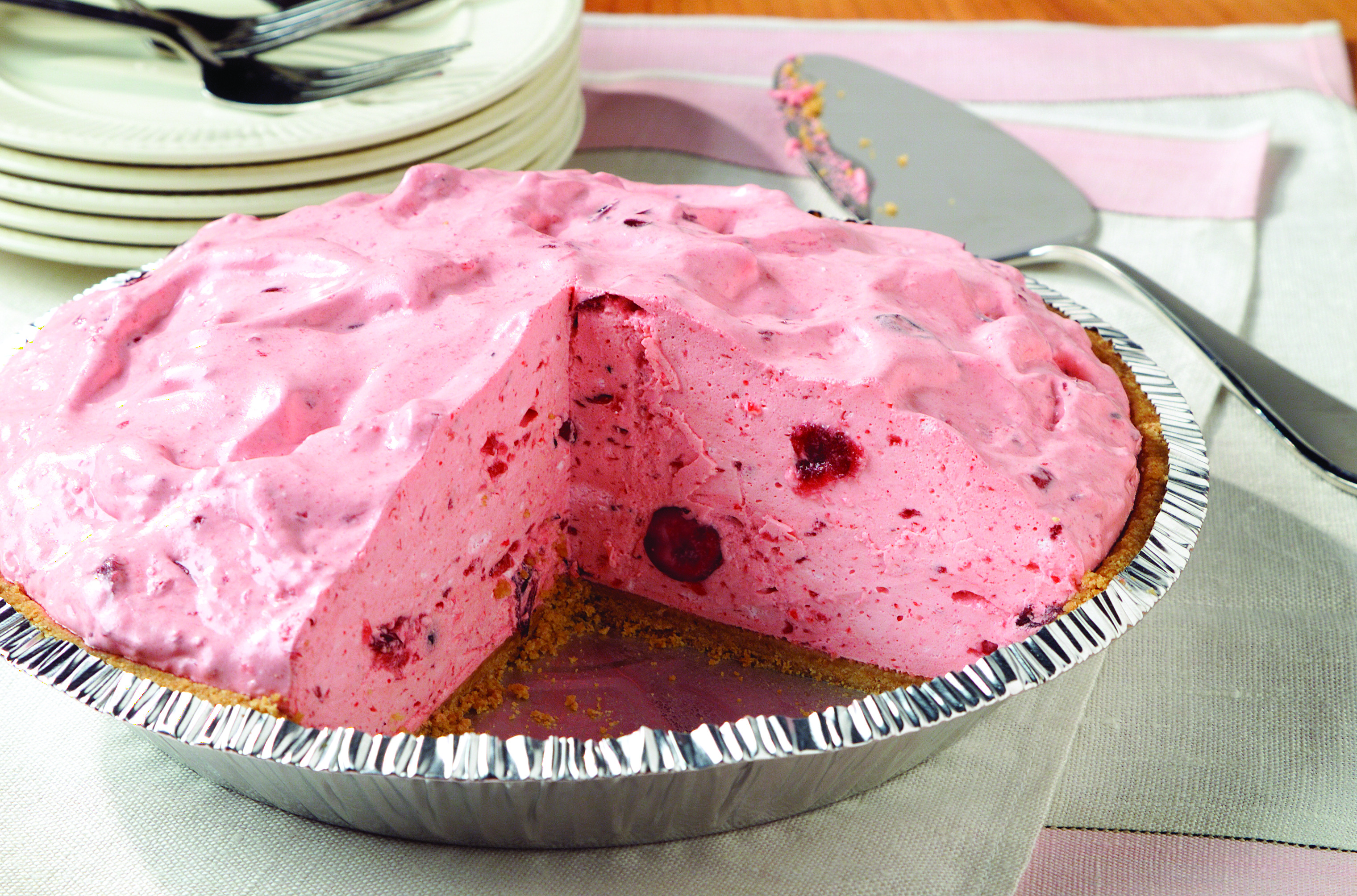 Creamy Cranberry Pie