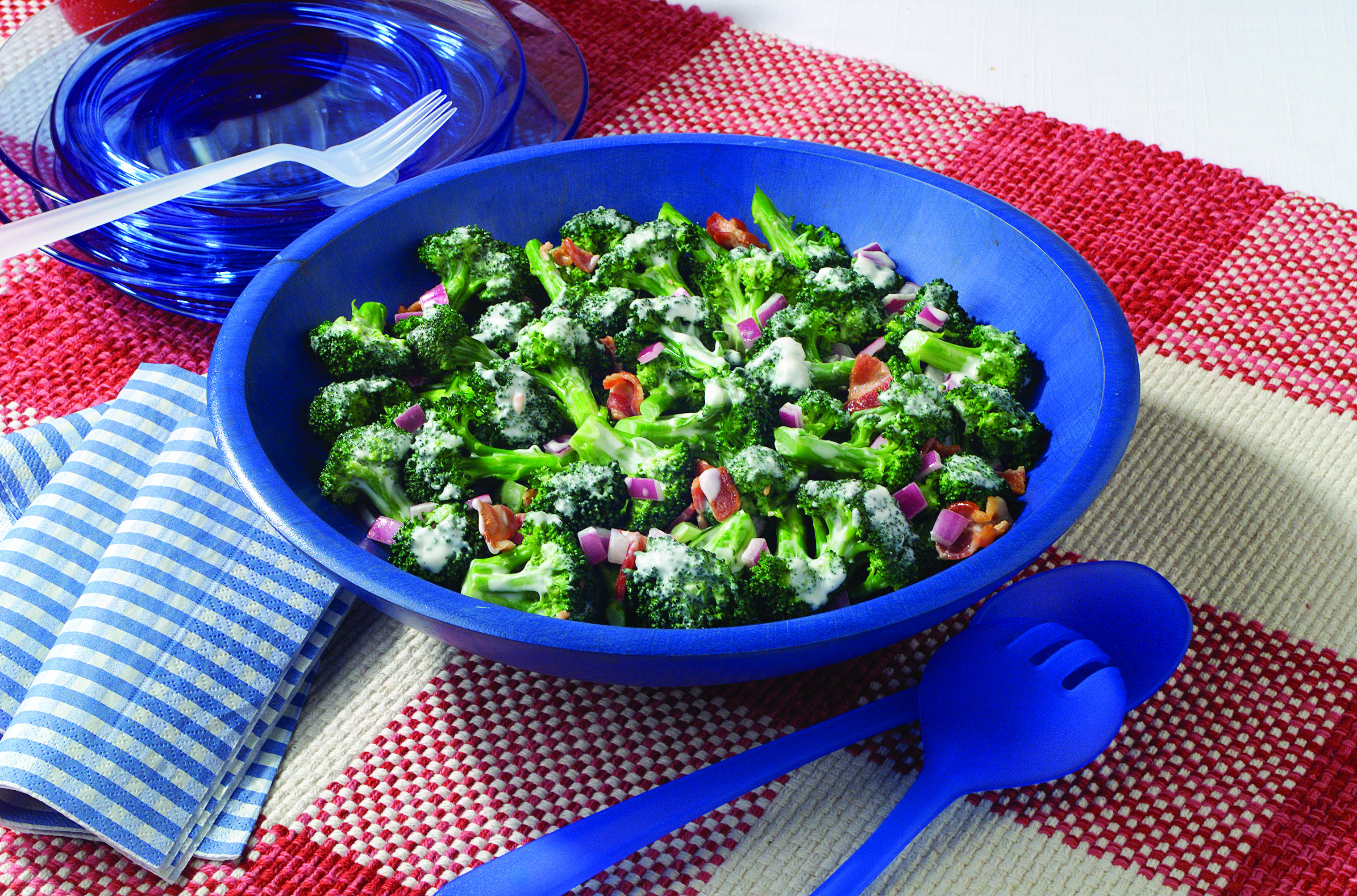 Tangy Broccoli Salad