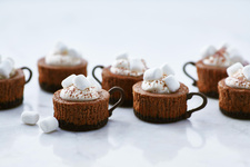 Hot Cocoa Cheesecake Minis