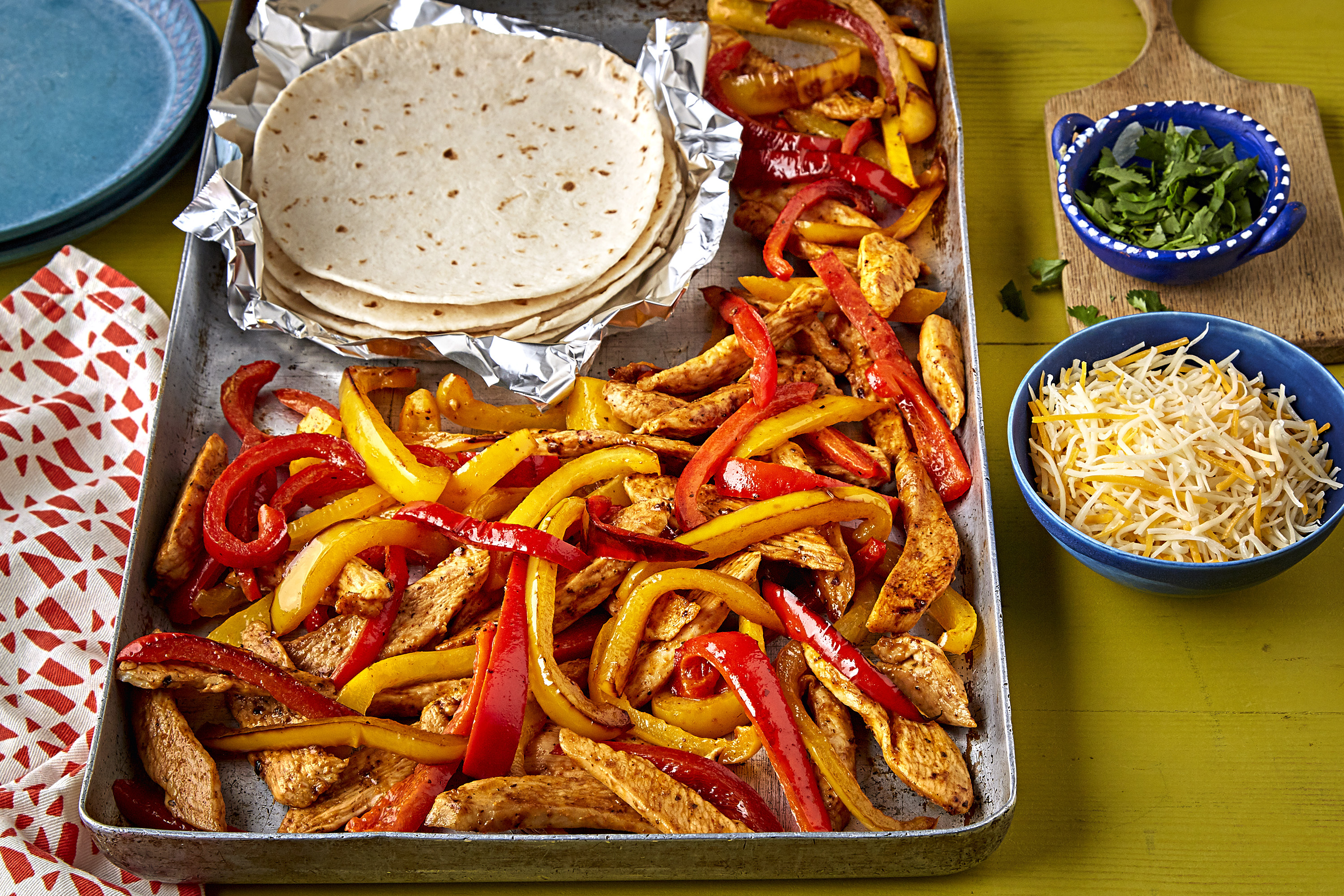 Tex-Mex One-Pan Chicken Fajitas
