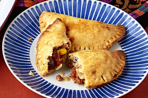 Mini Beef Empanadas with Black Beans & Corn